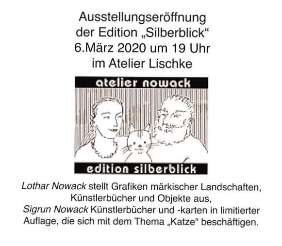 Eine neue Ausstellung  – Edition Silberblick