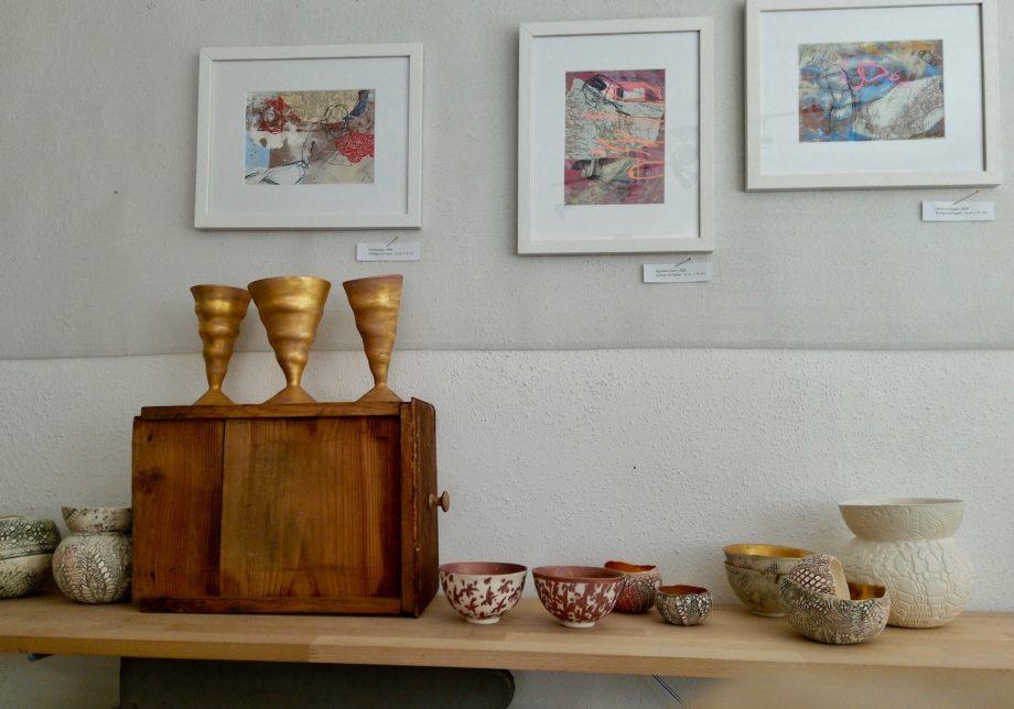 Ein Blick in die aktuelle Ausstellung von Kerstin Studt